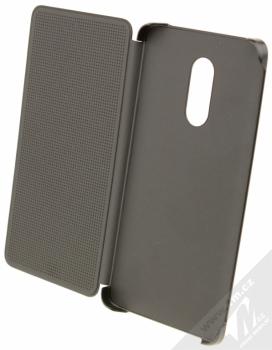 Xiaomi Perforated Flip Case originální flipové pouzdro pro Xiaomi Redmi Note 4 (Global Version) černá (black) otevřené