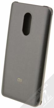 Xiaomi Perforated Flip Case originální flipové pouzdro pro Xiaomi Redmi Note 4 (Global Version) černá (black) zezadu