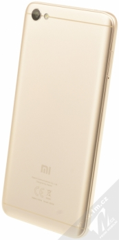 XIAOMI REDMI NOTE 5A 2GB/16GB Global Version CZ LTE zlatá (gold) šikmo zezadu