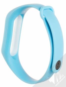 Xiaomi Strap silikonový pásek na zápěstí pro Xiaomi Mi Band 2 světle modrá (light blue) zezadu