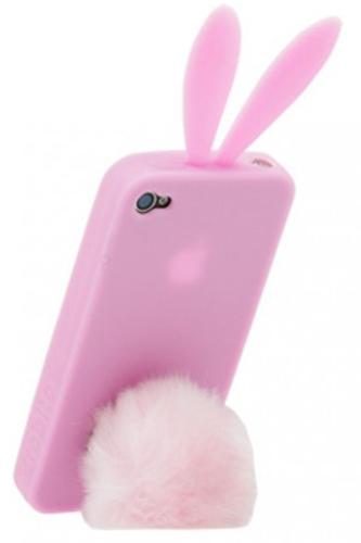 Rabito Bunny Rabbit silikonový kryt ve stylu králíka pro Apple iPhone 4 5079b40b259