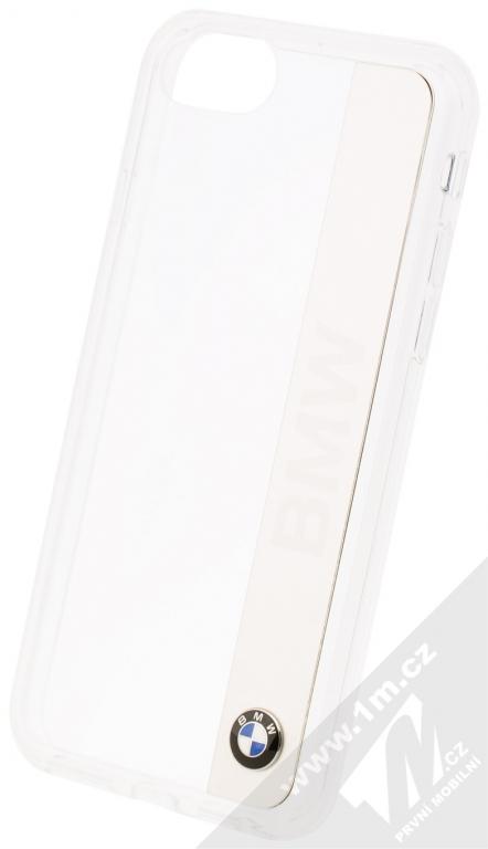 BMW Signature Aluminium Vertical ochranný kryt pro Apple iPhone 7  (BMHCP7TRALSI) stříbrná (silver 83d81918f7e