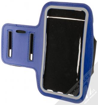 1Mcz Armband2 sportovní pouzdro na paži pro mobilní telefon od 5.0 do 6.0 palců modrá (blue)