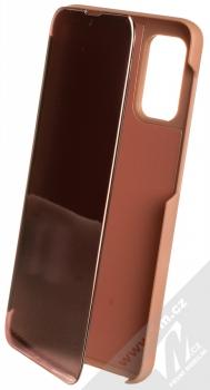 1Mcz Clear View flipové pouzdro pro Samsung Galaxy A32 5G růžová (pink)