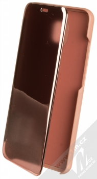 1Mcz Clear View flipové pouzdro pro Xiaomi Redmi 8A růžová (pink)