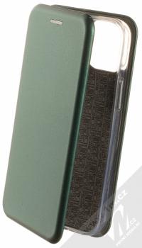 1Mcz Elegance Book flipové pouzdro pro Apple iPhone 13 mini tmavě zelená (dark green)