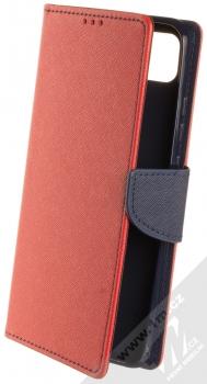 1Mcz Fancy Book flipové pouzdro pro Xiaomi Redmi 9C červená modrá (red blue)