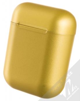 1Mcz i12 inPods Eleven TWS Bluetooth stereo sluchátka zlatá (gold) nabíjecí pouzdro