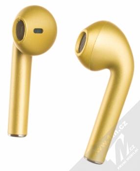 1Mcz i12 inPods Eleven TWS Bluetooth stereo sluchátka zlatá (gold)