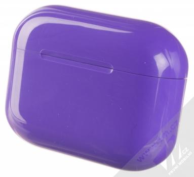 1Mcz i20 AirPro TWS Bluetooth stereo sluchátka fialová (violet) nabíjecí pouzdro