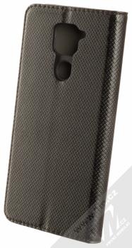 1Mcz Magnet Book Color flipové pouzdro pro Xiaomi Redmi Note 9 černá (black) zezadu