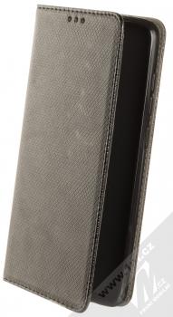 1Mcz Magnet Book Color flipové pouzdro pro Xiaomi Redmi Note 9 černá (black)