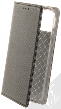 1Mcz Magnet Book flipové pouzdro pro Apple iPhone 12, iPhone 12 Pro černá (black)