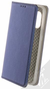 1Mcz Magnet Book flipové pouzdro pro Samsung Galaxy Xcover 5 tmavě modrá (dark blue)