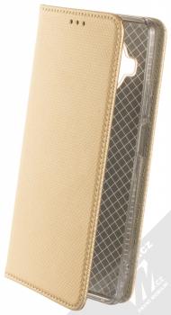 1Mcz Magnet Book flipové pouzdro pro Xiaomi Mi 10T Lite 5G zlatá (gold)