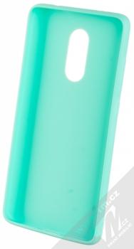 1Mcz Matt TPU ochranný kryt pro Xiaomi Redmi Note 4 (Global Version) mátově zelená (mint green) zepředu