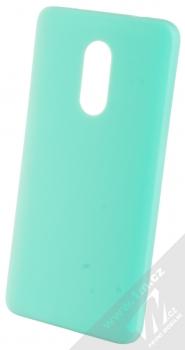 1Mcz Matt TPU ochranný kryt pro Xiaomi Redmi Note 4 (Global Version) mátově zelená (mint green)