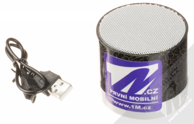 1M.cz Music Mini Speaker Bluetooth reproduktor černá (black) balení