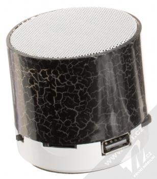 1M.cz Music Mini Speaker Bluetooth reproduktor černá (black) zezadu