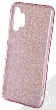 1Mcz Shining TPU třpytivý ochranný kryt pro Samsung Galaxy A32 5G růžová (pink)