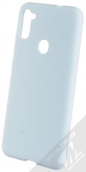 1Mcz Solid TPU ochranný kryt pro Samsung Galaxy M11 světle modrá (light blue)