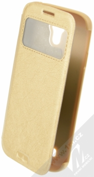 Kalaideng KA flipové pouzdro pro Samsung Galaxy S4, Galaxy S4 LTE-A zlatá (gold)