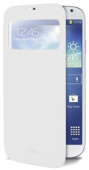 Puro Booklet Case flipové pouzdro pro Samsung Galaxy S4, Galaxy S4 LTE-A bílá (white)