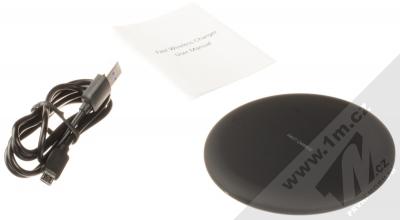Blue Star KC-N2 Fast Charge Wireless Charger podložka pro bezdrátové nabíjení černá (black) balení