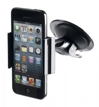 Celly FLEX14 univerzální držák do auta s přísavkou černá (black) s telefonem