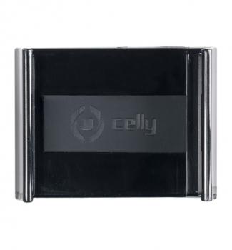 Celly FLEX14 univerzální držák do auta s přísavkou černá (black) detail vaničky
