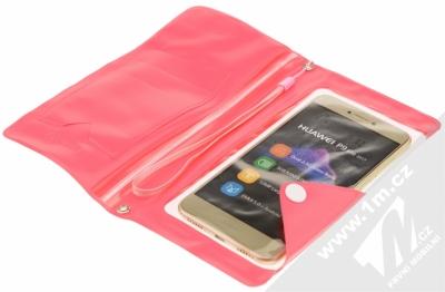 Celly Splash Wallet voděodolné pouzdro pro mobilní telefon, mobil, smartphone do 5,7 s telefonem