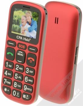CPA Halo 16 + pouzdro Krusell Hector L v ceně 199Kč ZDARMA červená (red)