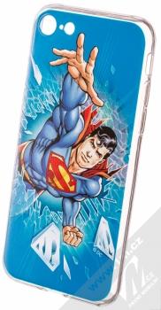 DC Comics Superman 005 TPU ochranný silikonový kryt s motivem pro Apple iPhone 7, iPhone 8 modrá (blue)