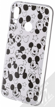 Disney Mickey Mouse 007 TPU ochranný silikonový kryt s motivem pro Huawei P20 Lite bílá (white)