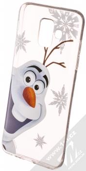 Disney Olaf 002 TPU ochranný silikonový kryt s motivem pro Samsung Galaxy A6 (2018) průhledná (transparent)