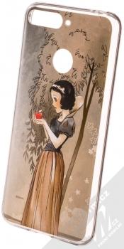 Disney Sněhurka 005 TPU ochranný silikonový kryt s motivem pro Huawei Y6 Prime (2018), Honor 7A hnědá (brown)