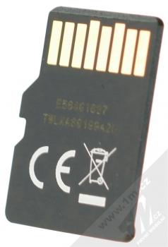 Emtec microSDXC 64GB Gold Plus Memory Class 10 (U1) paměťová karta a SD adaptér zlatá (gold) paměťová karta zezadu
