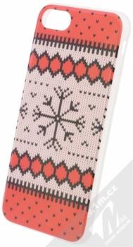 Flavr Ugly Xmas Sweater ochranný kryt s motivem pleteného svetru pro Apple iPhone 7, iPhone 8 červená (red)