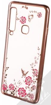 Forcell Diamond TPU ochranný kryt pro Samsung Galaxy A9 (2018) růžově zlatá (rose gold)