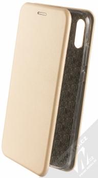 Forcell Elegance Book flipové pouzdro pro Huawei P Smart (2019) zlatá (gold)