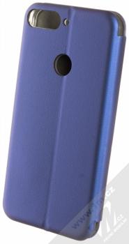 Forcell Elegance Book flipové pouzdro pro Huawei Y7 Prime (2018), Honor 7C tmavě modrá (dark blue) zezadu