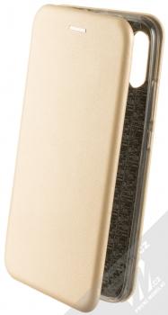 Forcell Elegance Book flipové pouzdro pro Xiaomi Redmi 7 zlatá (gold)