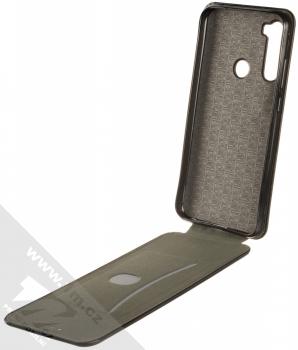 Forcell Elegance Flexi flipové pouzdro pro Xiaomi Redmi Note 8T černá (black) otevřené