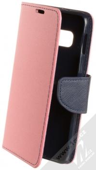 Forcell Fancy Book flipové pouzdro pro Samsung Galaxy S10e světle růžová modrá (light pink blue)