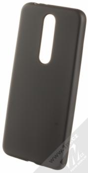 Forcell Jelly Matt Case TPU ochranný silikonový kryt pro Nokia 5.1 Plus černá (black)