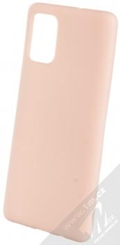 Forcell Jelly Matt Case TPU ochranný silikonový kryt pro Samsung Galaxy A71 světle růžová (powder pink)