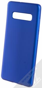 Forcell Jelly Matt Case TPU ochranný silikonový kryt pro Samsung Galaxy S10 Plus modrá (blue)