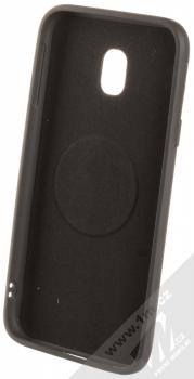 Forcell Soft Magnet Case TPU ochranný kryt podporující magnetické držáky pro Samsung Galaxy J3 (2017) černá (black) zepředu