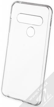 Forcell Ultra-thin ultratenký gelový kryt pro LG G8s ThinQ průhledná (transparent) zepředu
