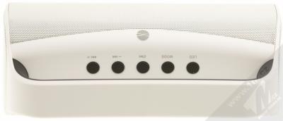 Forever BS-610 Bluetooth reproduktor s LED efekty a FM rádiem bílá (white) seshora
